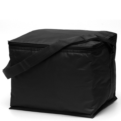 Basic 6 pack Cooler Black (2301B_TVG)