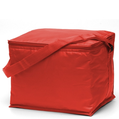 Basic 6 pack Cooler Red (2301R_TVG)