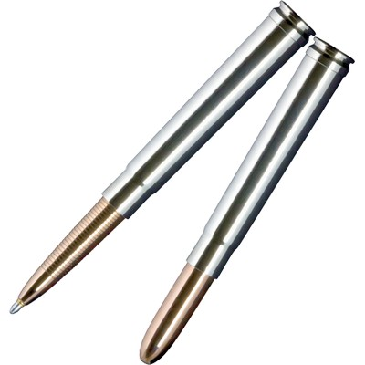 .375 Bullet Space Pen (nick/silv)