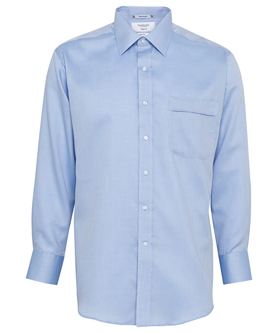 Van Heusen Long Sleeve Polyster Cotton Mens Business Shirt A103_VH