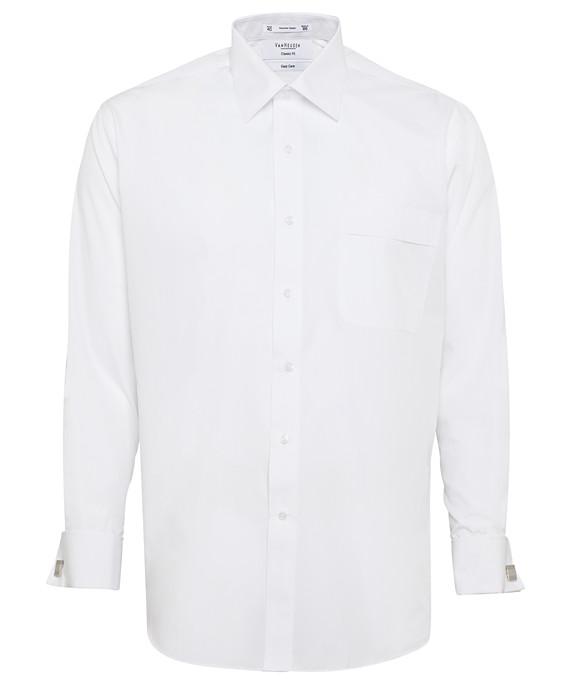 Van Heusen Long Sleeve Polyster Cotton Mens Business Shirt A201_VH