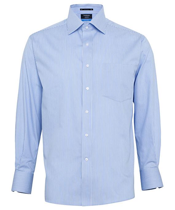 Van Heusen Long Sleeve Performa  Non - Iron Vapour Phase Mens Business Shirt       AEPL07_VH