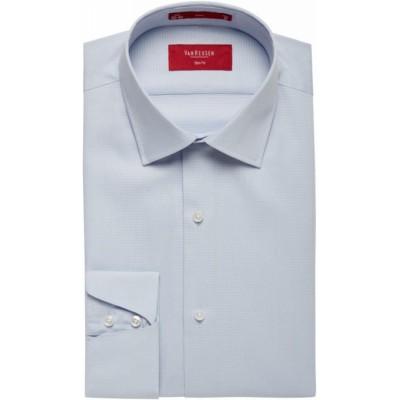 Van Heusen Long Sleeve Cotton Spandex Mens Business Shirt AS206_VH