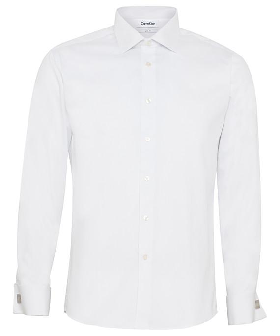 Calvin Klein Long Sleeve Mens Business Shirt CKA501_VH