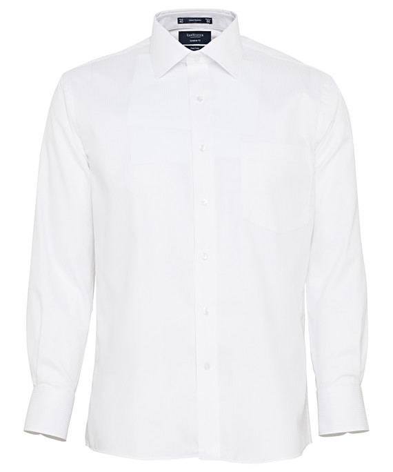 Van Heusen Long Sleeve Cotton Poly Mens Business Shirt E148_VH