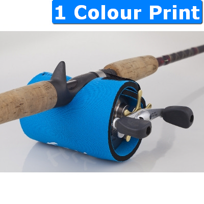 Fishing Reel Cover with Stubby Base Can-Cooler
