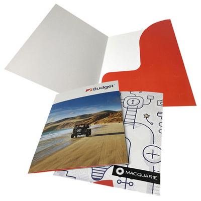 Digital Presentation Folder (Single Pocket)