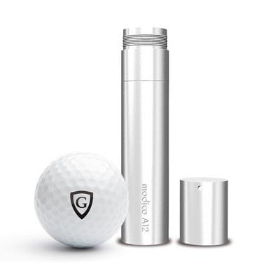 Modico A12 golf ball stamp black 12mm round imprin