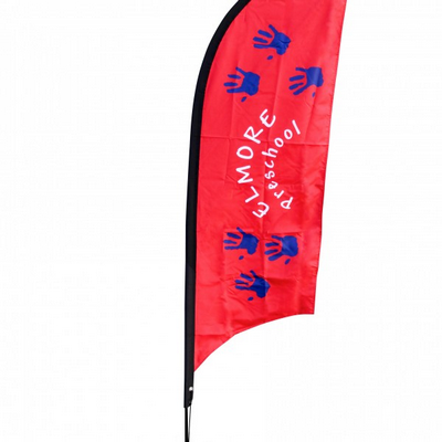 Feather Flag Banner (Angle Or Flat) - Small 68X209