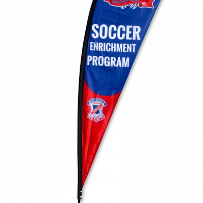 Teardrop Flag Banner - Medium 98.5X310cm