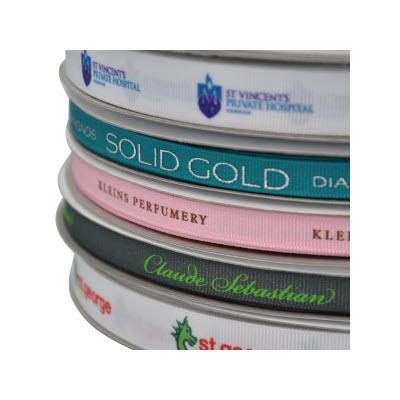 Exact Colour Print on Ribbon Dyed to PMS Colour 10