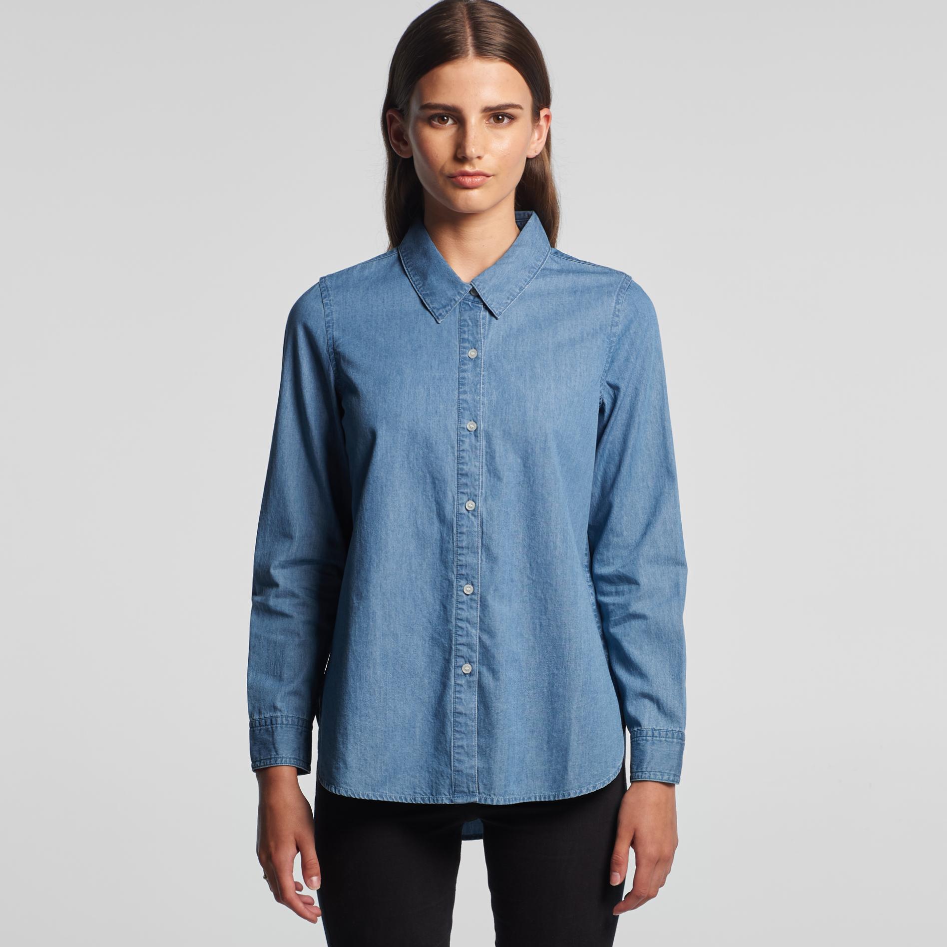 AS Colour Womens Blue Denim Shirt