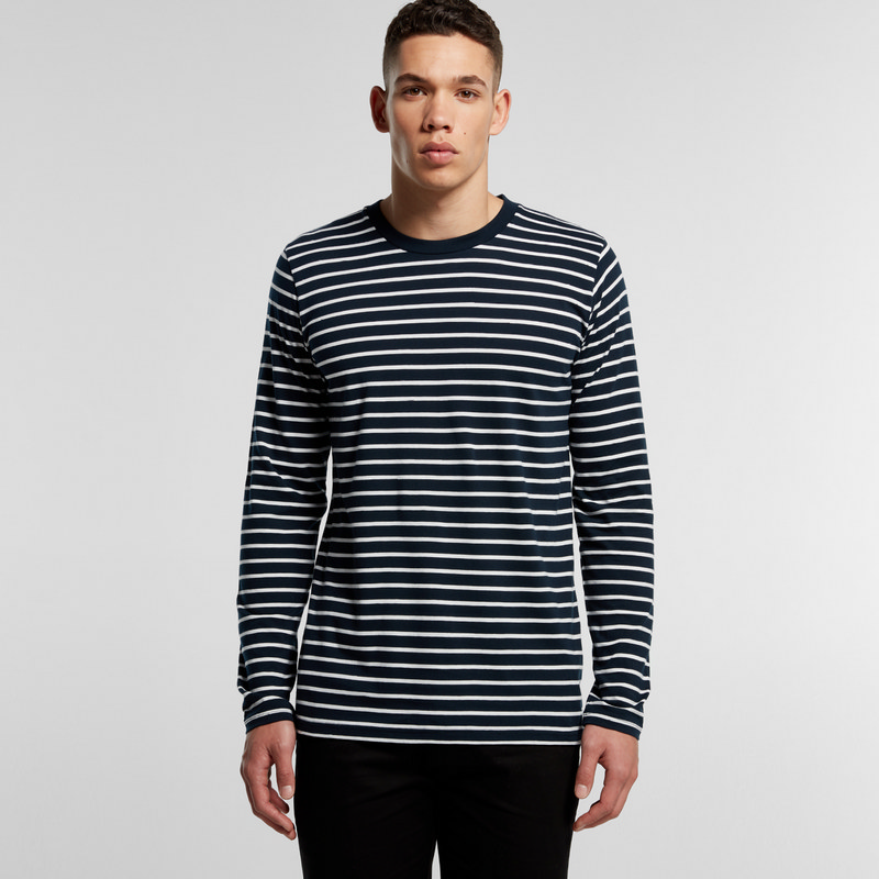AS Colour Match Stripe Long Sleeve Tee