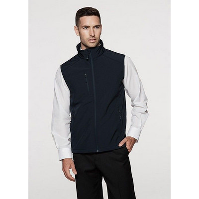 Aussie Pacific Mens Olympus Soft-Shell Vest