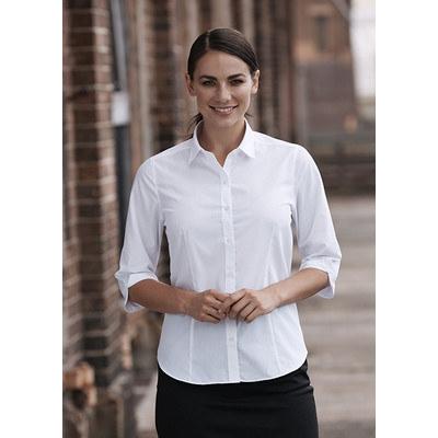 Aussie Pacific Ladies Kingswood 3/4 Sleeve Shirt