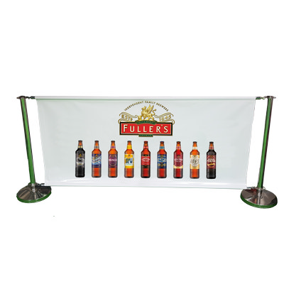Outdoor Stand Set + Polyester Banner 1930mm x 850m