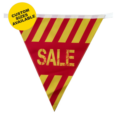 Polyester Bunting - 115m x 200mm