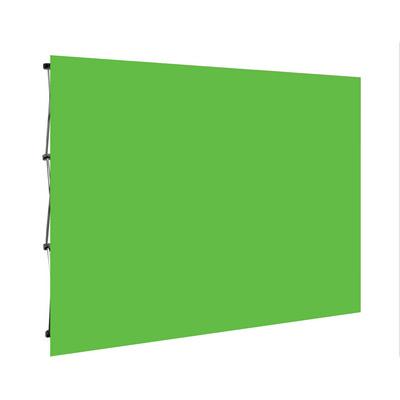 Green Screen Media Wall - Curved or Flat 2.25m x
