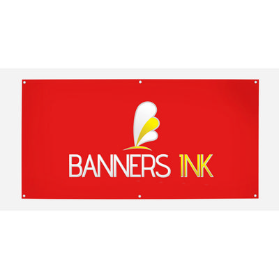 Single Sided Vinyl Banner  3000mm x 1000mm  - (printed with 4 colour(s)) VB_1_SS2_BI