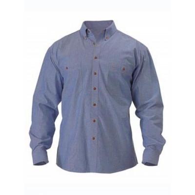 Bisley Chambray Shirt - Long Sleeve