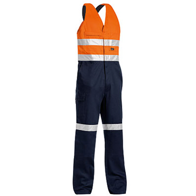 3M Taped Two Tone Hi Vis Action Back Overall BAB0359T_BSY
