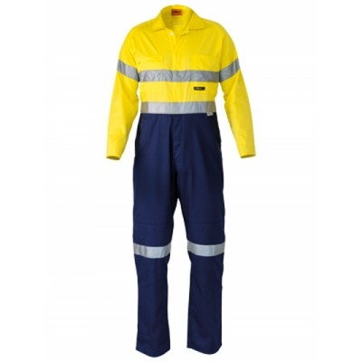 Bisley 3M Taped Two Tone Hi Vis Lightweight Covera