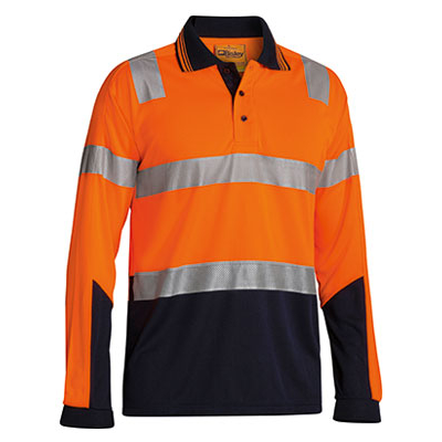 Bisley 3M Taped Two Tone Hi Vis Polyester Micromes