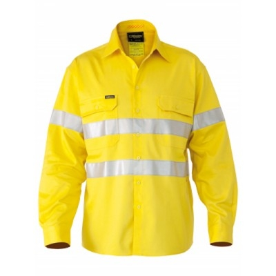 Bisley 3M Taped Hi Vis Industrial Cool Vent Shirt