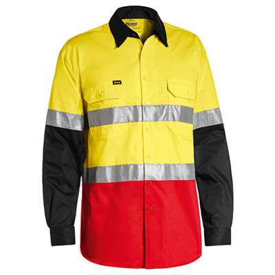 Bisley 3M Taped Hi Vis Cool Lightweight Three Tone