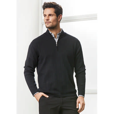Mens 80/20 Wool-Rich Pullover
