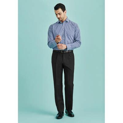 Mens One Pleat Pant Regular