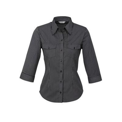 Ladies Cuban 34 Sleeve Shirt