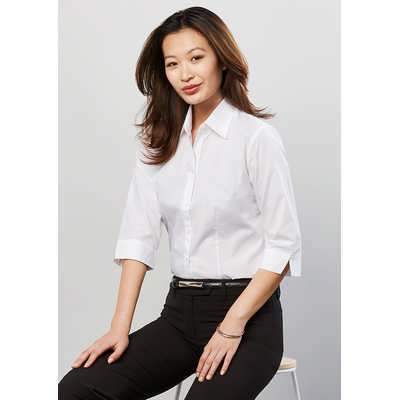 Ladies Base 34 Sleeve Shirt