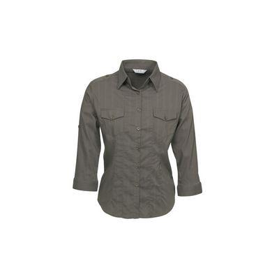 Ladies Brooklyn Roll-Up 34 Sleeve Shirt
