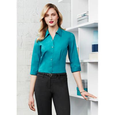 Ladies Monaco 3/4 Sleeve Shirt