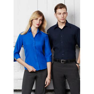 Mens Plain Oasis Short Sleeve Shirt