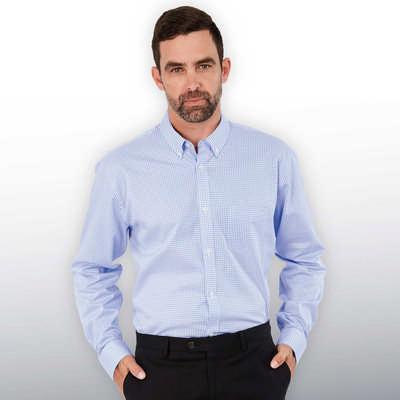 Barkers Hudson Check Shirt Mens