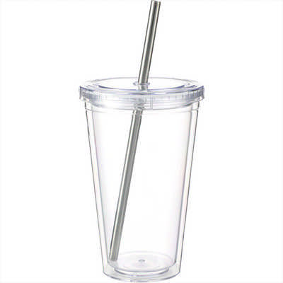 Reusable Stainless Straw Set with Eco Tube