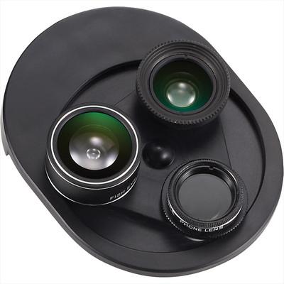 4 in 1 Revolving Camera Lens