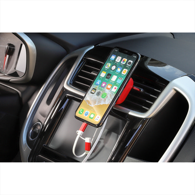 Chariot Phone Mount with 3-in-1 Cable