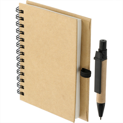 4 x 5 Eco Stone Notebook with Pen