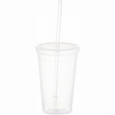 Iceberg 16-oz. Tumbler with Straw