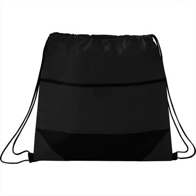 Angles Non-Woven Drawstring Bag