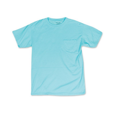 GARMENT DYED WITH POCKET T-SHIRT