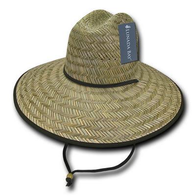 Mat Straw Lifeguard Hat