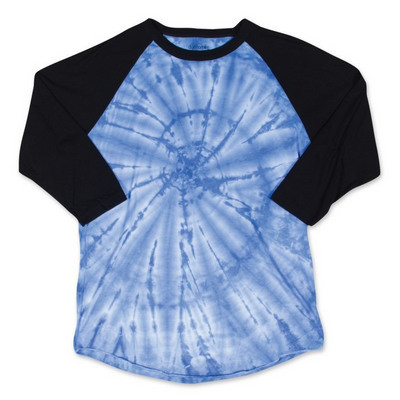 3/4 SLEEVE TIE DYED T-SHIRT