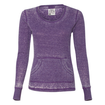 J.America Zen Thermal Ls T-Shirt