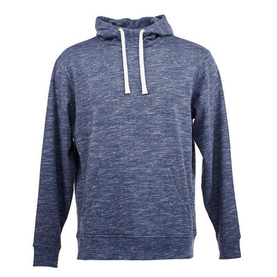 J.America Melange Fleece Pullover Hood