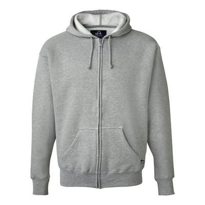 J.America Premium Full-Zip Fleece Hood