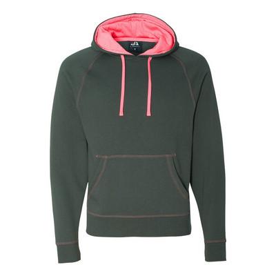 J.America Shadow Fleece Pullover Hood